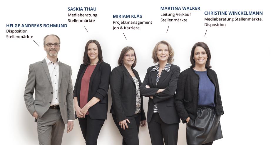 Team Stellenmarkt IZ-Jobs