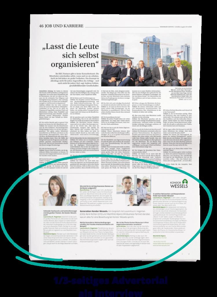 Preistabelle Advertorial 1 Mediadaten21 Karriere_nur EXPO_final